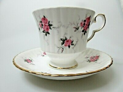 Princess House Hammersley Fine Bone China Tea Cup & Saucer Set Made in England