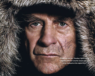 SIR RANULPH FIENNES  BRITISH  EXPLORER   GENUINE HAND SIGNED COLOUR PHOTO 10 x 8