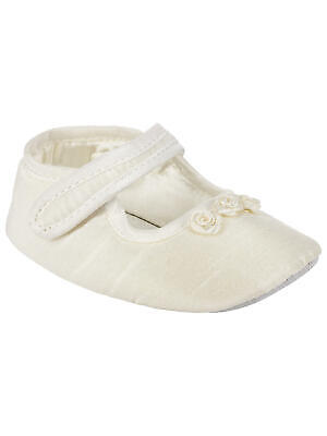 John Lewis Baby Mary Jane Shoes / Cream 12-18 Months Brand New Free UK Postage