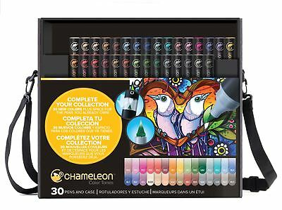 Chameleon Color Tones Pen Set Alcohol Blending Gradient - 30 Pen Deluxe Set