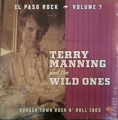"LP-VA. EL PASO ROCK #7# ""TERRY MANNING"" - Border Town Rock'n'Roll 1963"