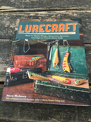 Lurecraft: How to Make Plugs, Spinners, Spoons, and Jigs paperback fishing book