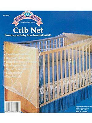 Baby King Crib Net Protects Your Baby From Harmful Insects & Bugs
