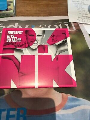 Pink Greatest Hits So Far Cd Disc Like New