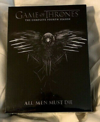 Game of Thrones: Season 4 (DVD, 2015, 4-Disc Set) New Factory Sealed