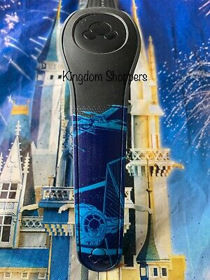 DISNEY PARKS Star Wars X-Wing Tie Fighter BLACK Magic Band Magicband Unlinked 2