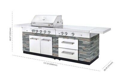 Kitchenaid Stainless Steel 8 Burner Outdoor Gas Grill