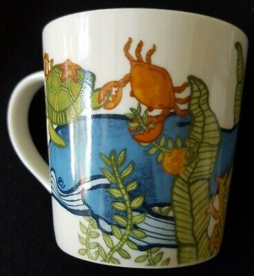 Starbucks Coffee Mug Ocean Fish Tank 2010 Bone China Nouvelle Porcelaine D'os