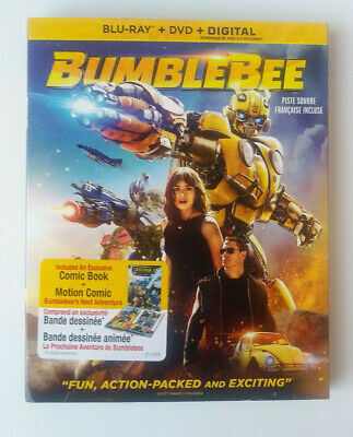 Transformers: BUMBLEBEE - BLU RAY & DVD - BRAND NEW SEALED PACKAGE