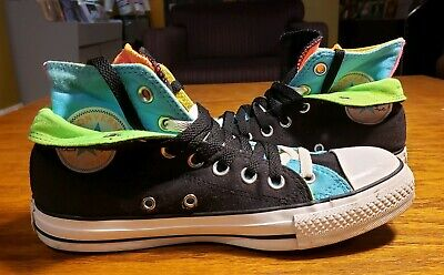 18be540af456 Converse All-star Chuck Taylor Double Layered Canvas Womens 8 Mens 6   EXCELLENT