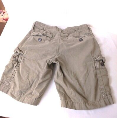 62d67fe7 American Eagle Outfitters Classic khaki Cargo Shorts Men's 30 light Olive  Green
