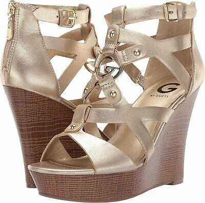 ef977a38a71c G BY GUESS Womens Dodge Open Toe Casual Platform Sandals Size 9.5 ...