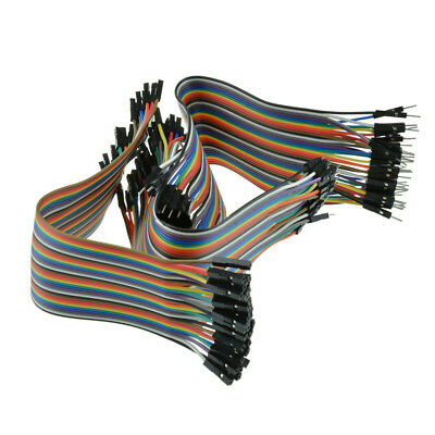 120x Cable Dupont Macho a Macho/Macho a Hembra / Hembra a Hembra Jumper Cable