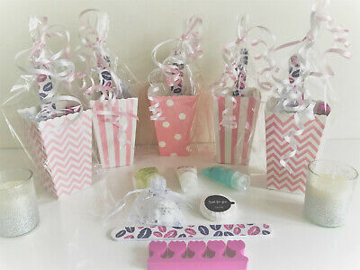 Girls Ladies Hen Do's Teenagers Bridesmaids Luxury Pre Filled Pamper Party Bags