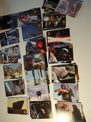 STAR WARS TRILOGY TRADING CARDS *FULL SET* 125 CARDS MERLIN UK 1997 *Super cond*