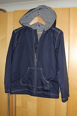 Dark blue showerproof jacket from Little Mites age 9-10 (but large for size)