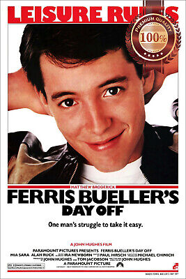 New Ferris Bueller's Day Off Official Original Cinema Movie Print Premium Poster