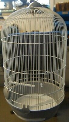 Small Bird cage ideal for budgies and other small birds -with accessories
