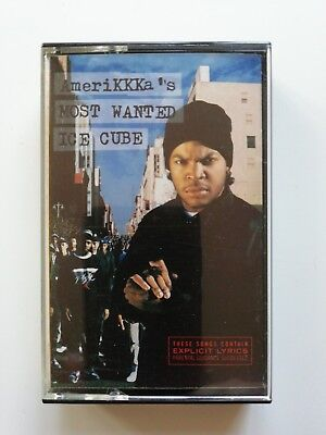 Ice Cube - Amerikkka's Most Wanted - Audio Cassette Tape - 1990 VGC