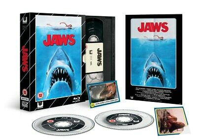 Jaws  (Limited Edition VHS Collection) [Blu-ray]