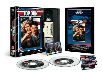 Top Gun (Limited Edition VHS Collection) [Blu-ray]