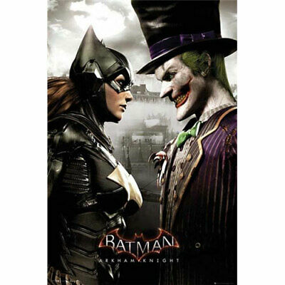 Batman Arkham Knight - Batgirl And Joker - POSTER 61x91cm NEW
