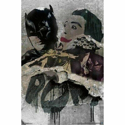 Batman Classic TV - Grunge - POSTER 57x86cm NEW Robin Joker