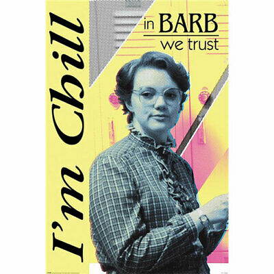 Stranger Things - In Barb We Trust I'm Chill - POSTER 61x91cm NEW