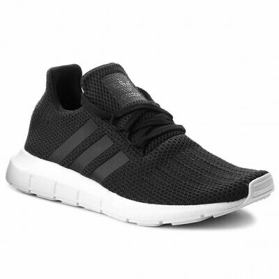 Details about BRAND NEW IN BOX MENS ORIGINAL ADIDAS RUNNING SHOES SWIFT RUN B37726 BLACK WHITE
