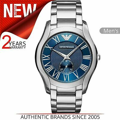 Emporio Armani Classic Men's Watch AR11085¦Roman Numeral Dial¦Stainless Strap