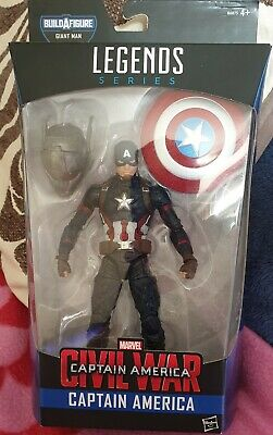 MARVEL LEGENDS Civil War Captain America boxed NEW