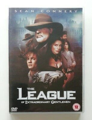 The League of Extraordinary Gentlemen DVD - Sean Connery - Used VGC D1