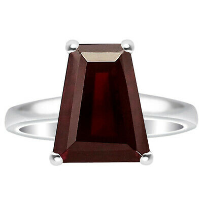 Hessonite Garnet 925 Sterling Silver Ring Jewelry DRR1076_L