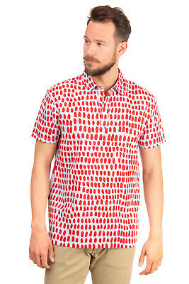 449d0031626 RRP €410 MARC JACOBS Polo Shirt Size L Printed Regular Collar Made in Italy