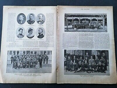 1900...Zeitungsdruck 1 / China Peking