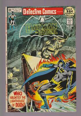 Detective Comics # 414  The Lighthouse of Death !  grade 8.5 scarce book !