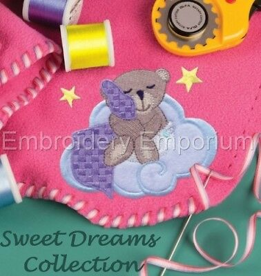 Sweet Dreams Collection - Machine Embroidery Designs On Cd Or Usb