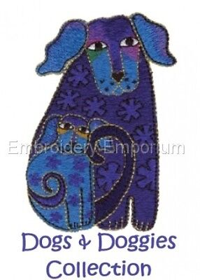 Dogs & Doggies - Machine Embroidery Designs On Cd Or Usb