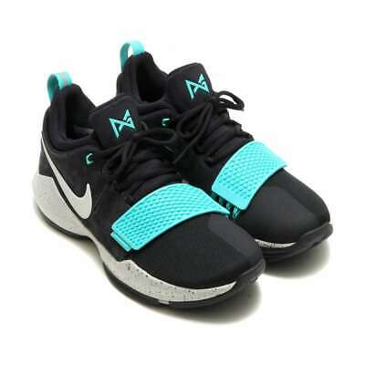 newest d507e 7f671 Nike Mens PG 1 Leather Low Top Lace Up Basketball Shoes, Blue, Size 11.5