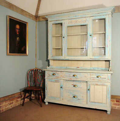19th Century French Farmhouse Dresser with Rack