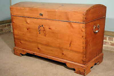 Early 19th Century Dome Topped Blanket Chest c. 1840