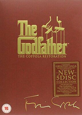 The Godfather Trilogy: The Coppola Restoration [DVD] By Francis Ford Coppola.