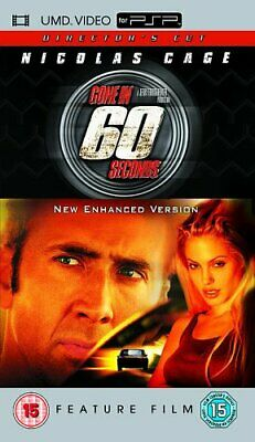 Gone in 60 Seconds [UMD Mini for PSP] By Nicolas Cage,Angelina Jolie,Jerry Br.