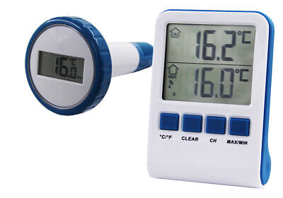 Digitales Funk Pool Thermometer Steinbach Temperaturfühler Wassertemperatur Pool