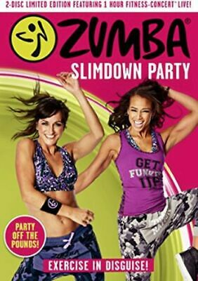 Zumba - Slimdown Party - Limited Edition Dvd [Uk] New Dvd