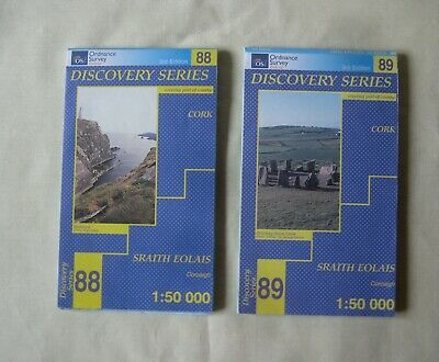 Discovery Series Ordnance Survey Ireland – CORK– Sheets  88, 89