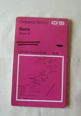 Ordnance Survey  Map of Barra (inc South Uist ) Sheet  31