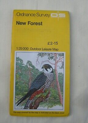New Forest Ordnance Survey Map – Outdoor Leisure Series  23