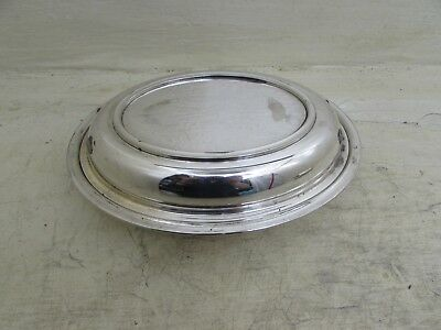 Antique silver plated oval lidded Tureen / Entree Dish BHLD EPNS Missing Handles