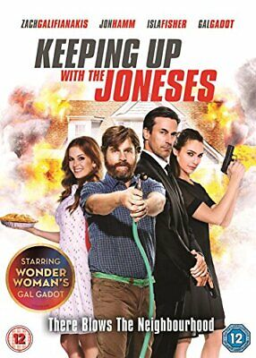 Keeping Up With The Joneses [DVD] By Andrew Dunn,Isla Fisher,Jon Hamm,Michael.